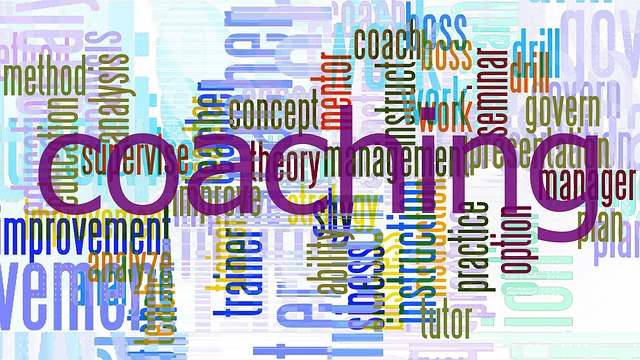 Coaching words in a mosaic