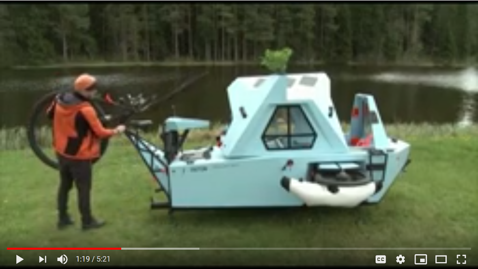 It's a Trike,– no a Boat,– no a Tiny!